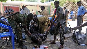 Somali sports officials die in theatre suicide blast