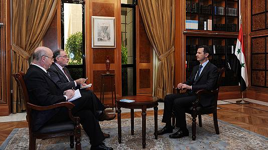&#8216;Here to Stay&#8217;, Syrian President Assad&#8217;s defiant message