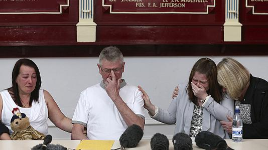 Family of soldier killed on London street hold emotional press conference