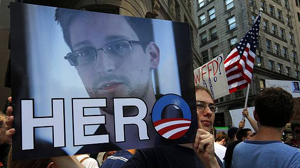 Edward Snowden voted euronews Person of 2013