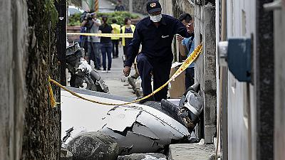 Dozens dead in Taiwan plane crash