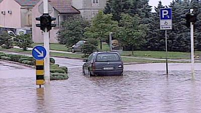 Croatia: coastal cities awash after torrential rain