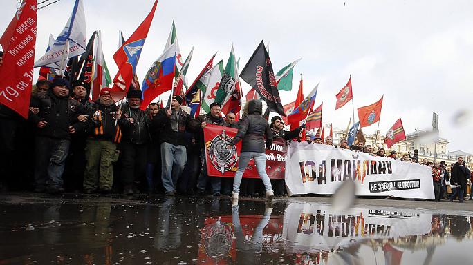 Thousands attend anti-Maidan march in Moscow