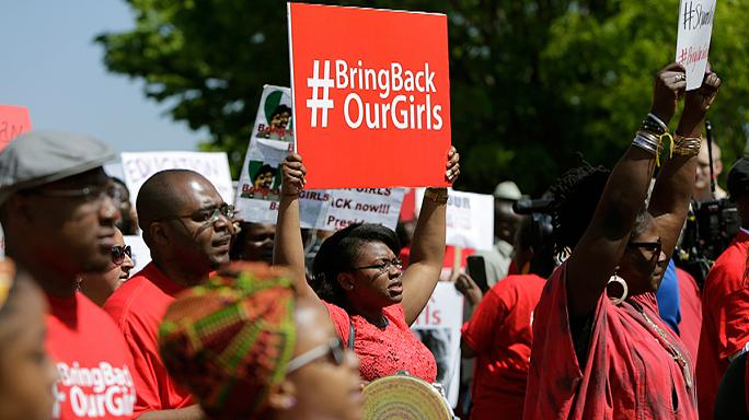 Nigeria's new president vows to make every effort to free schoolgirls abducted by Boko Haram