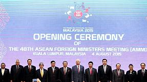 ASEAN foreign ministers set to discuss South China Sea tensions