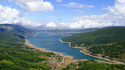 Der Mavrovo-Nationalpark