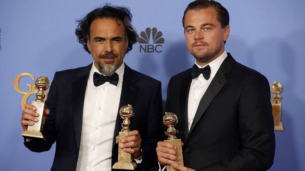 The Revenant triumphs at Golden Globes