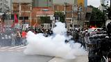 Sao Paulo police clash with protesters over transport fares hike