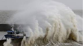 Gusty winds hit Europe – on both sides of the Channel