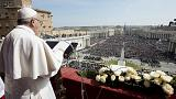 Use weapons of love to combat violence, says Pope on Easter Sunday