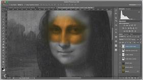 Was Mona Lisa's smile based on a man's?