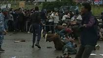 [Video] Police break up anti-government protest in Ethiopia's capital