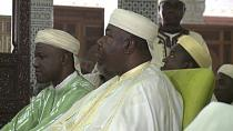 "Gabon: Ali Bongo ""prays for peace"" at Eid celebrations [no comment]"