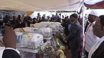 Funeral in DRC for six UDPS members killed [No Comment]