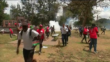 Kenya : Police disperse anti-corruption protesters [no comment]