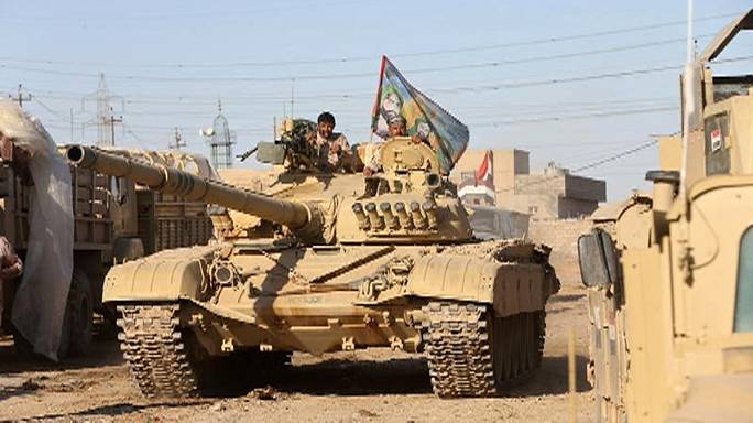 Iraqi forces step up attacks in push towards centre of Mosul