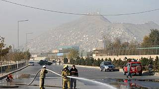 Suicide bomber attacks vehicle in Kabul, killing four