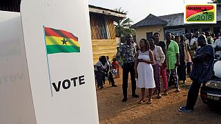 [Photos] Colours on display as Ghanaians vote for president and lawmakers