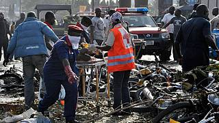 At least 30 killed in suicide bomb attack in northeast Nigerian town