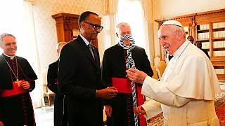 Pope begs for forgiveness over church's role in Rwanda genocide