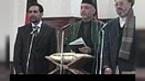 Karzai sworn in as Afghan president