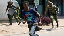 Kenya police disperse opposition protesters [no comment]