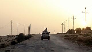 Six Egyptian soldiers killed in Sinai armed attack