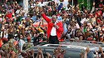 Kenyatta urges Kenyans to vote [no comment]