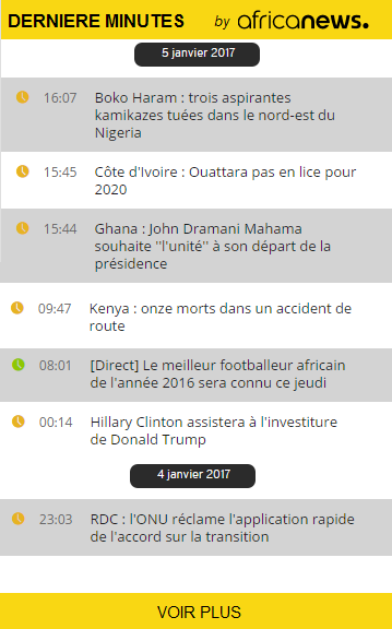 Free widgets and services | Africanews