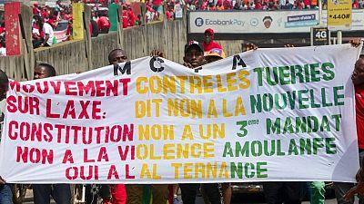 Guinée : trois civils tués dans de nouveaux affrontements