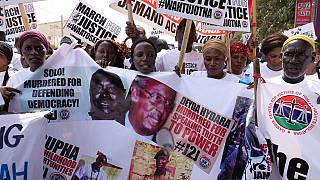 Arrest Jammeh, ban his party: Gambians demand