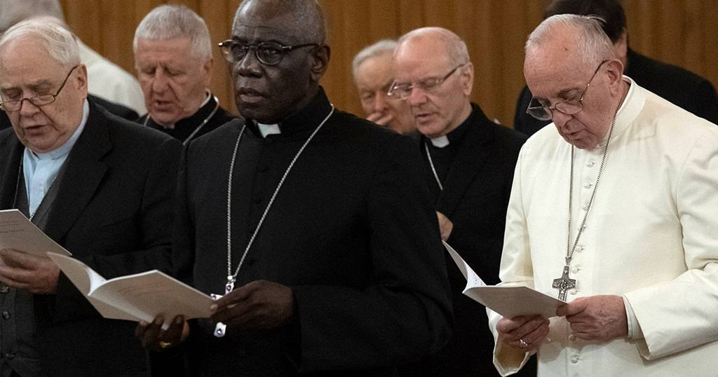 Meet Guinea's cardinal 'dividing' Pope Francis and Emeritus Pope Benedict XVI