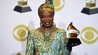 Benin's Angelique Kidjo dedicates Grammy Award to Nigeria's Burna Boy