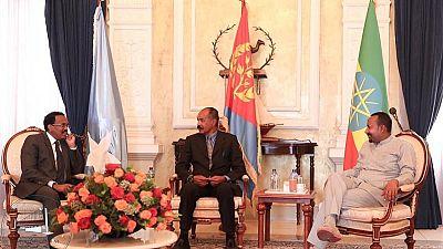 Ethiopia, Eritrea, Somalia leaders hold 3rd tripartite summit in Asmara