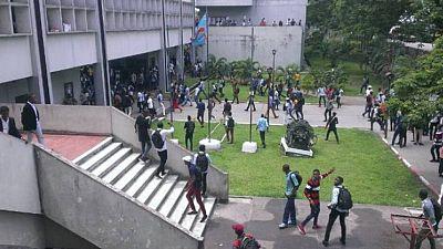 RDC : des étudiants en justice pour troubles