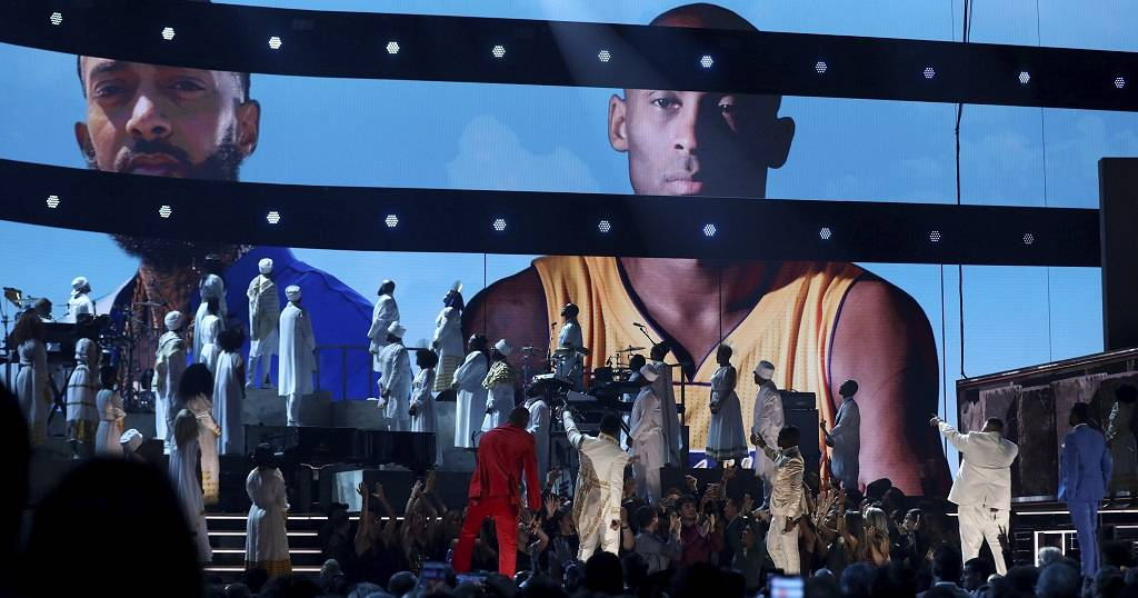 Photos: Eritrean attire on show as 62nd Grammy honours Nipsey Hussle, Bryant