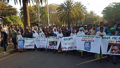 Social media to the streets: Ethiopians demand truth over student abductions