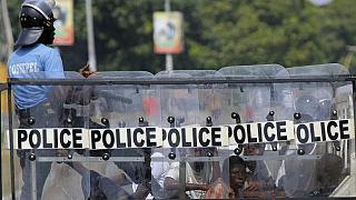 Guinea president suggests protesters being killed by comrades