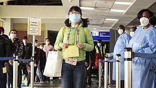 Coronavirus : contrôles à l'aéroport de Dakar