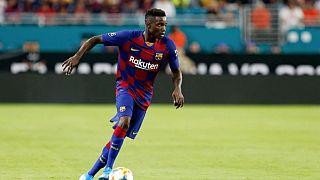 Mercato : le Sénégalais Moussa Wagué prêté à Nice par le FC Barcelone