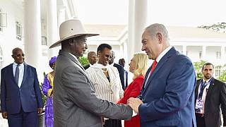 Uganda 'studying' Jerusalem embassy options: Museveni to visiting Israeli PM
