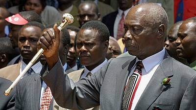 Kenya's ex-president Daniel Arap Moi dies