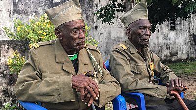 RDC : les derniers survivants de l'armée coloniale belge à l'honneur