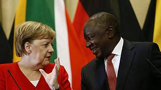 Economic relations to dominate Merkel's visit to South Africa