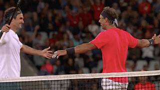 Tennis: record d'affluence pour Nadal et Federer en Afrique du Sud