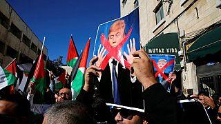 Conflit israélo-palestinien : manifestations anti-Trump à Rabat