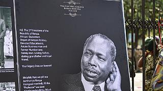 Kenyans pay last respect to arap Moi ahead of Wednesday burial