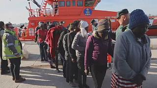 69 African migrants rescued by Spanish Navy at sea