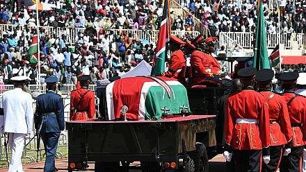 Tributes paid to late Kenya leader at memorial [No Comment]