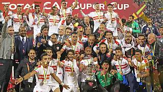 2019 CAF Super Cup final: Egypt's Zamalek beat Tunisia's Esperance